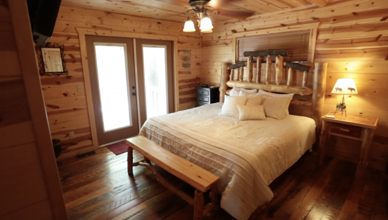 beavers bend luxury cabin
