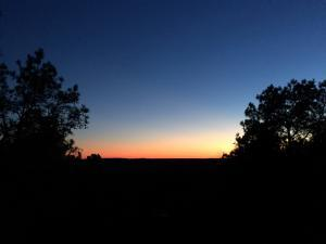 Picture of sunset at Mountain Vista